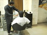 Video : Salons Reopen As Delhi Relaxes Covid Restrictions