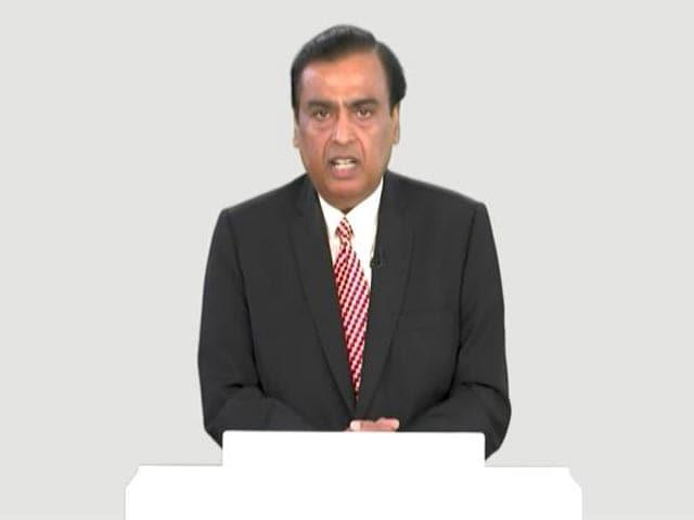 "Video : ""Delighted To Welcome Saudi Aramco Chairman On RIL Board"": Mukesh Ambani"