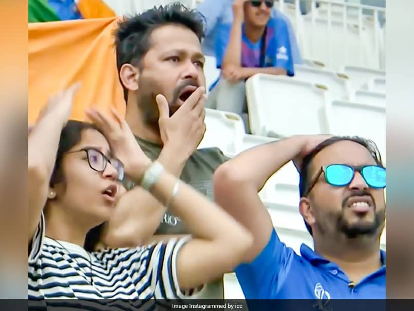On Camera: Indian Fans Dramatic Response To Ajinkya Rahanes Wicket In WTC Final