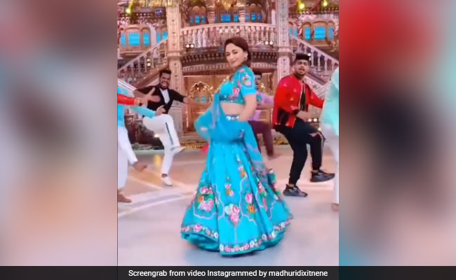No Spoilers Here: Madhuri Dixit Does The Most Obvious Thing Between Shots