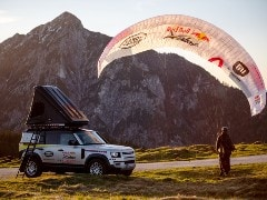 New-Gen Land Rover Defender Will Be The Support Vehicle For Red Bull Extreme X-Alps Adventure Race