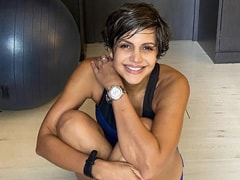 Can You Guess Who Clicked This Pic Of Mandira Bedi - Daughter Tara Or Son Vir?