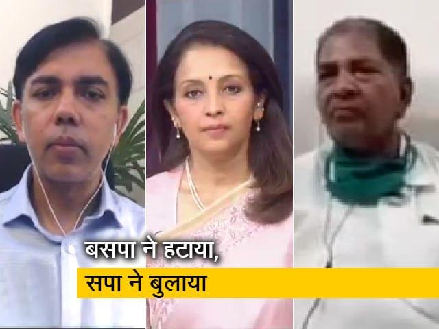 Videos : खबरों की खबर : उत्तर प्रदेश में नया चेप्टर शुरू, बीएसपी के बागी अखिलेश यादव से मिले