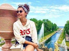 Taapsee Pannu Lights Up Instagram With Postcard From Russia