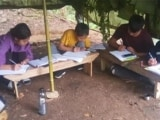 Video: Mizoram: Students Forced To Climb On Hilltops For Internet Signal