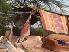 """Lost Everything"": Slum Dwellers In Haryana Village Amid Demolition Fears"
