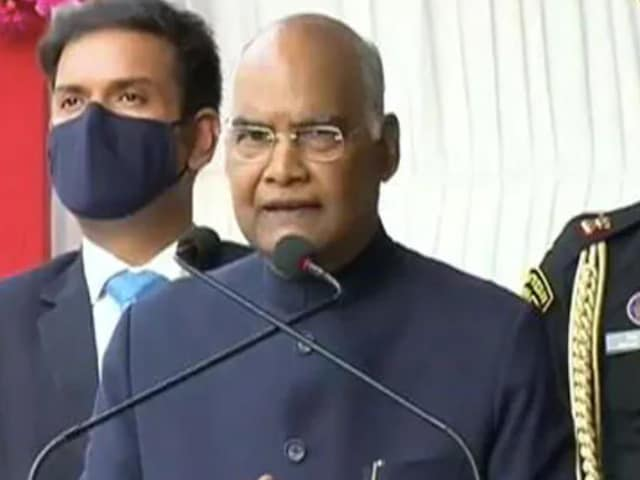 Video : 'I Get Rs. 5 Lakh A Month, Pay More Than 50% In Taxes': President Kovind