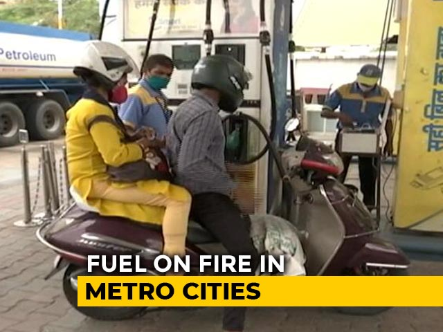 Video : Petrol, Diesel Prices Hiked Again On Sunday, Touch New High