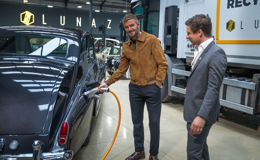 Through his investment arm Beckham took a 10 per cent stake in the company.
