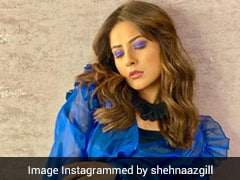 Trust Shehnaaz Gill To Send Shockwaves Even With Her Electric Blue Top