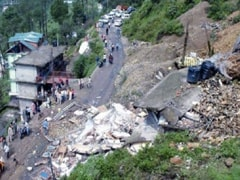 Landslide Washes Away Portion Of National Highway in Bengal's Darjeeling