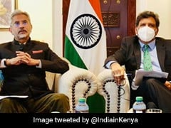 Foreign Affairs Minister S Jaishankar Interacts With Indian Expats In Kenya