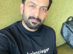 "After Lockdown, Prithviraj Sukumaran Returns To <I>Bhramam</i> Set For ""Tale End Scene"""