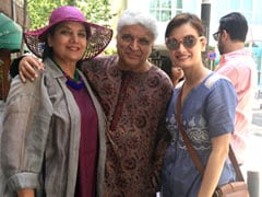 Throwback To The Time When Shabana Azmi And Javed Akhtar Met Dia Mirza In Spain