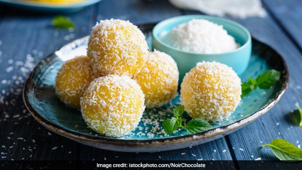 How to Make Mango Ladoos Without Use Of Ghee Or Mawa- Video Inside