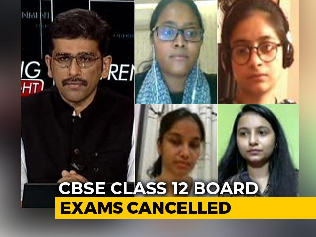 Video : Class 12 Boards Cancelled, Suspense Over Assessment Continues