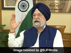 Punjab Profiteering From Covid Vaccines: Union Minister Hardeep Puri