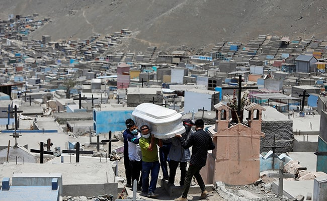 Peru Covid Deaths Doubled After Revision, Hit Grim Global Record