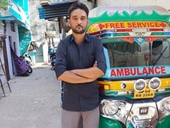 Meet The Good Samaritan From Bhopal Who Turned His Autorickshaw Into Ambulance To Ferry Covid Patients