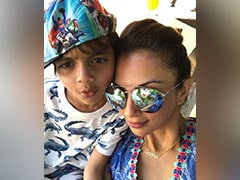 """""""The Only Boy That Keeps Me On My Toes"""": To Birthday Boy Yohan From Mom Seema Khan"""