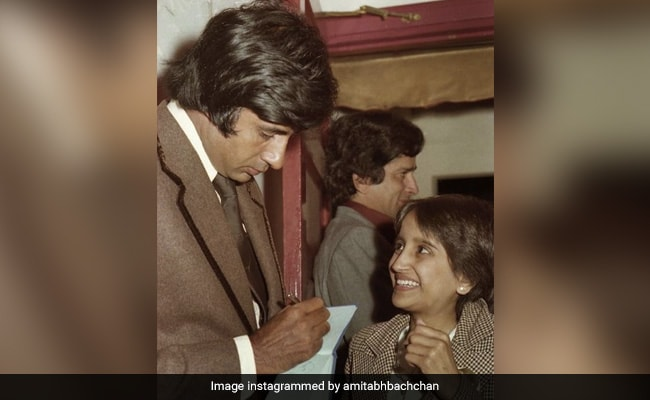 Amitabh Bachchan's Fan's Smile Says It All In This Old Pic. 'Now, It's Just An Emoji,' He Writes