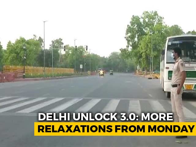 Video : Delhi Eases Curbs From Tomorrow. Shops, Restaurants, Malls To Reopen