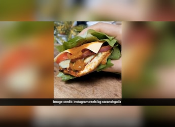 Hold On! Have You Heard Of A 'No Bun Burger'? Try This Recipe By Celebrity Chef Saransh Goila