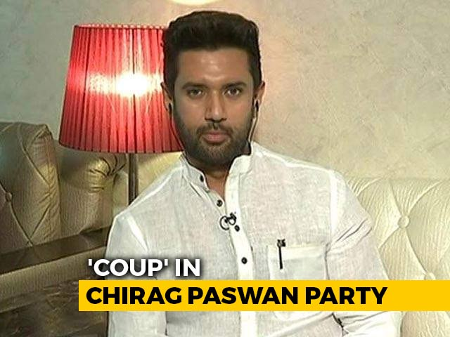 Video : Chirag Paswan To Lose All Party Top Posts? Rebel MPs Move Swiftly