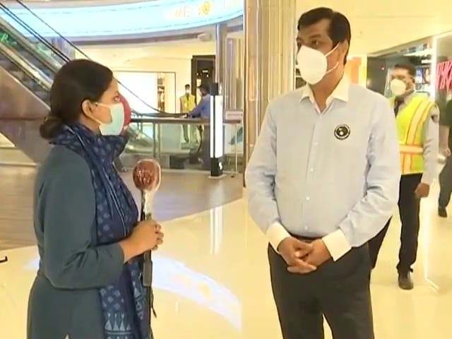 Video : Malls Tackle Overcrowding As Delhi Unlocks Amid Pandemic