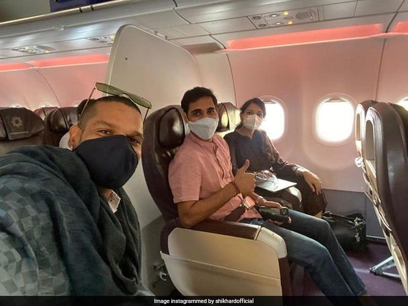Shikhar Dhawan, Bhuvneshwar Kumar arrived in Mumbai before Sri Lanka Cricket News