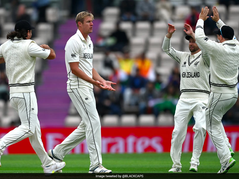 Kyle Jamieson has Most 5-fors in World Test Championship as India bowled out for 217