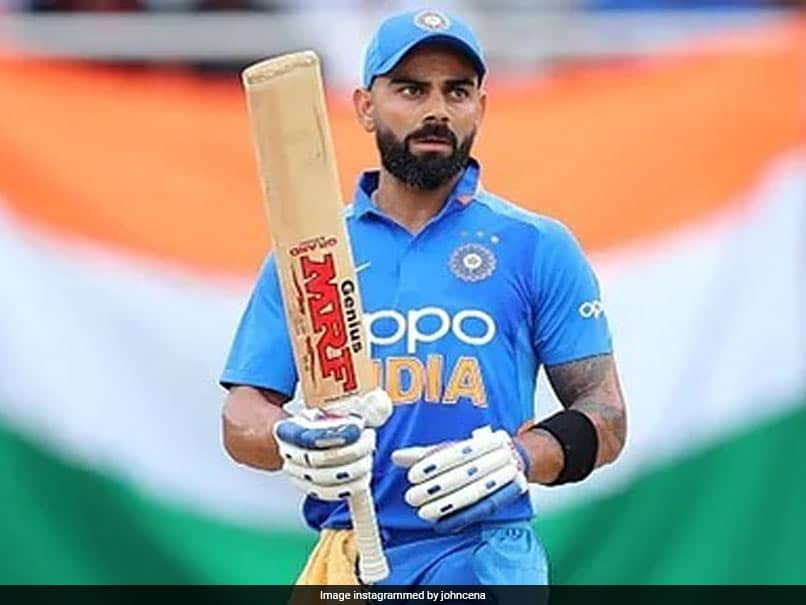 """""""John Cena Supports India For WTC"""" Final, Say Fans After WWE Star Posts Pic Of Virat Kohli"""