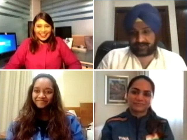 Video : World No.1 Rifle And Pistol Shooters On NDTV Ahead Of Tokyo Games