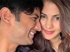 """""""There Is No Life Without You,"""" Writes Rhea Chakraborty On Sushant Singh Rajput's Death Anniversary"""