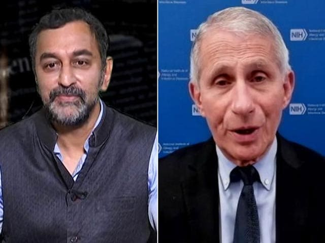 """Video : """"Delta Variant Dominant In Many States In India, Spreads Readily"""": Dr Fauci Exclusive"""