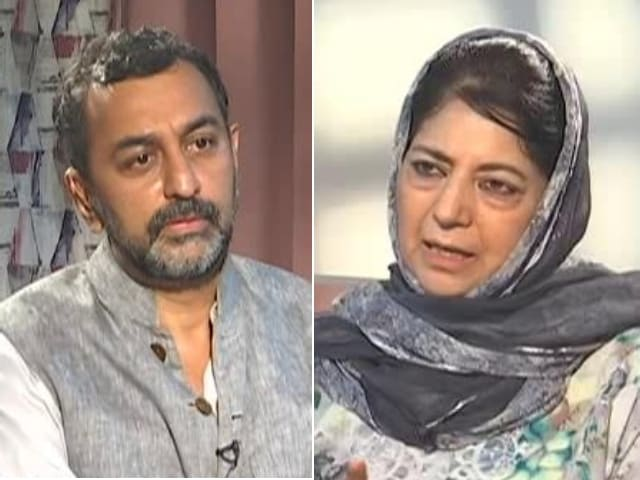 """Video : """"Won't Fight Polls Or Be Chief Minister Till Article 370 Is Restored"""": Mehbooba Mufti"""
