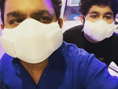 AR Rahman And Son Get Vaccinated. See What He Posted