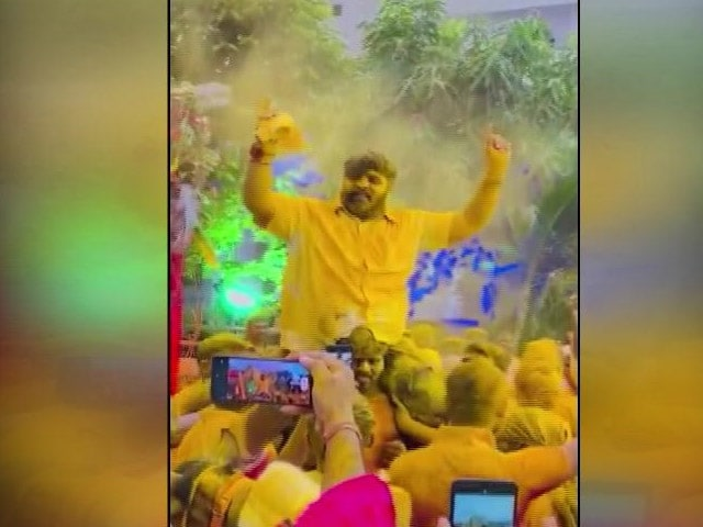 Video : BJP MLA Accused Of Hosting Wedding Party For Daughter Defying Covid Rules