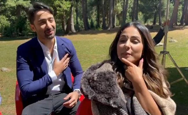 शाहीर शेख ने गाया 'बूमरो बूमरो' गाना तो Hina Khan ने कह दिया 'फर्जी' कश्मीरी, देखें वायरल Video
