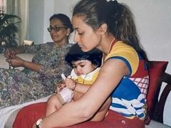 """Travelling Back In Time"", Namrata Shirodkar Found This Throwback Gem"