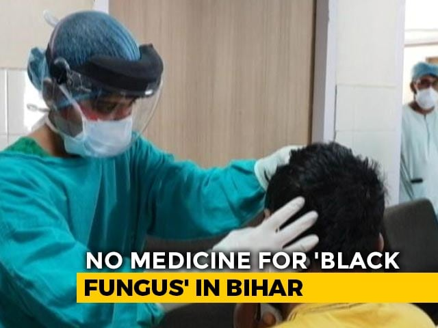 Video : Medicines Dry Up As Black Fungus Cases Rise, Bihar Says Wait For Tuesday