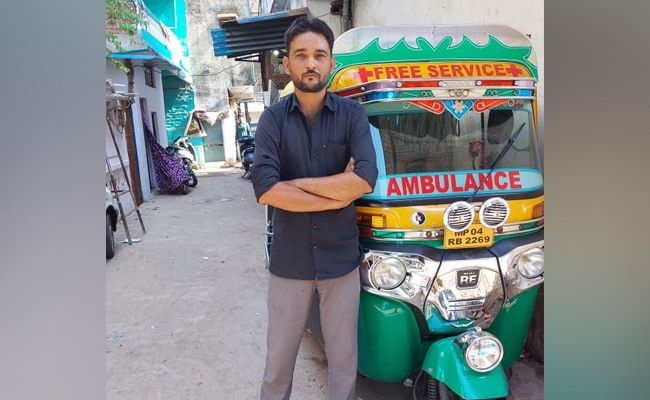 'Sold Wife's Jewellery': He Converted His Auto-Rickshaw Into Ambulance