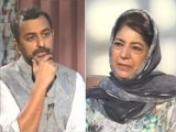 """Video : """"Why Would Government Call 'Gupkar Gang' For Meeting If All Was Well?"""": Mehbooba Mufti"""