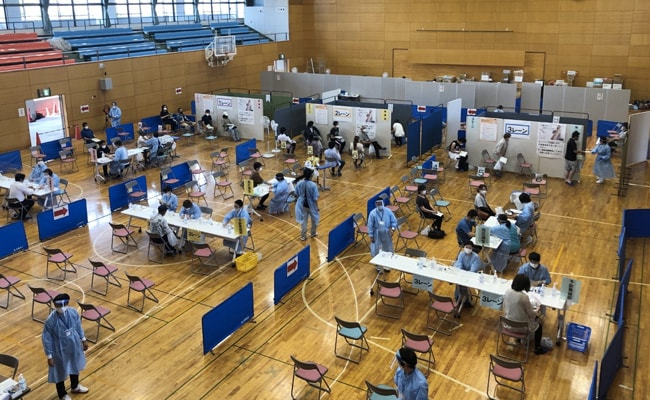Tsunami Lessons Help Push Vaccination Drive In Japan City