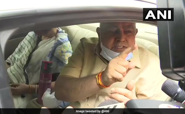 After Amit Shah Meet, Bengal Governor's Stern Remarks On Post-Poll Violence