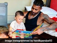 Hardik Pandya Shares Screenshot Of Virtual Call With Son Agastya. See Pic