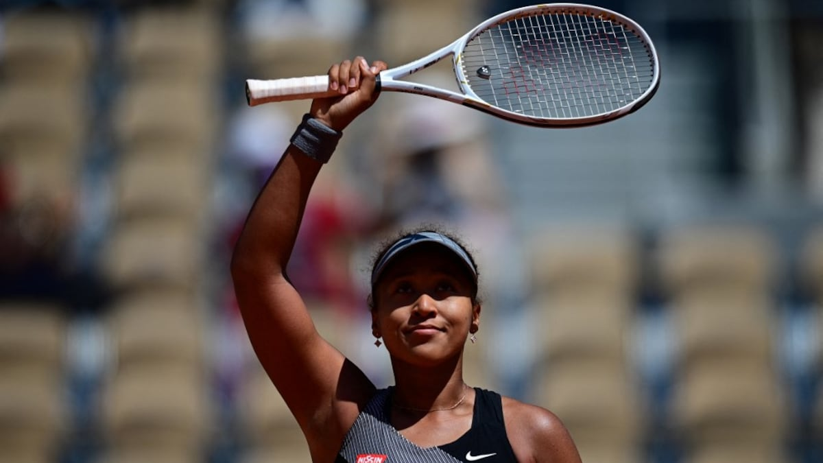 Naomi Osaka thanks the fans for the French Open Start    Tennis news