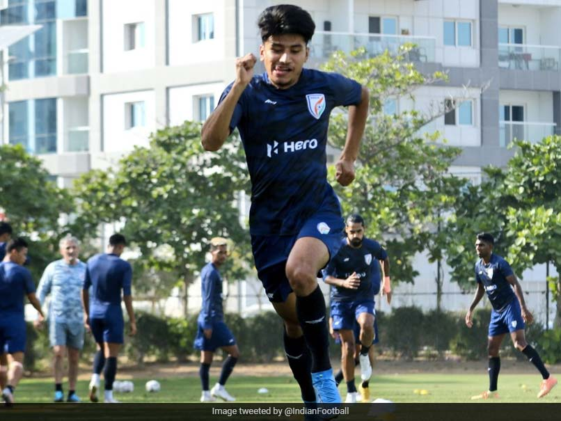 Anirudh Thapa has been allowed to rejoin the Indian Football Team after the subsequent Covid Trials.  AIFF |  Football news