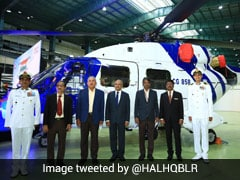 Coast Guard Inducts 3 Advanced Light Mk-III Helicopters