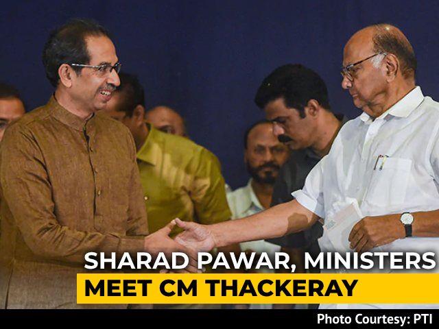 Video : Sharad Pawar, Uddhav Thackeray Meet Amid Reports Of Maharashtra Alliance Strain